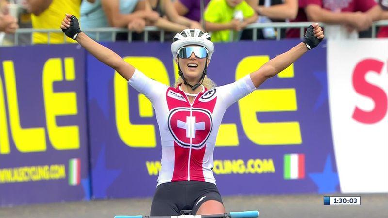Jolanda Neff met overmacht Europees Kampioene MTB in Brno