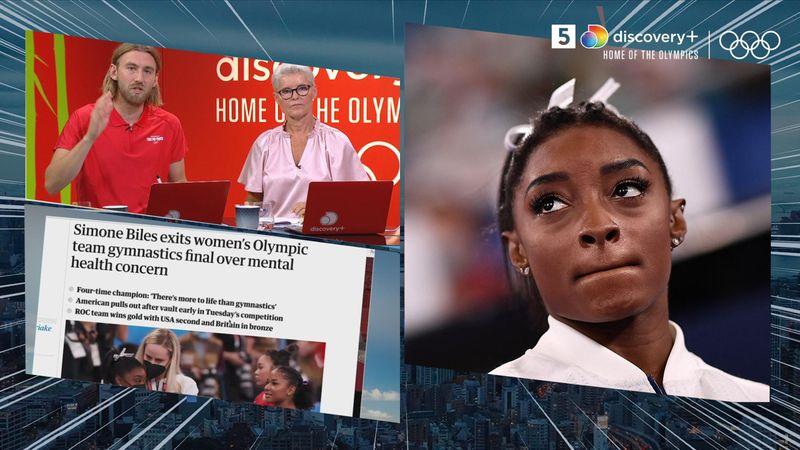 Mentalt helbred forhindrede Simone Biles-deltagelse i hold-finalen – usikker til torsdag