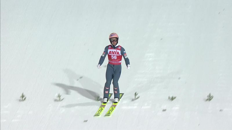 Skispringen Nizjni Tagil | Winst voor Kraft in wisselvallige omstandigheden