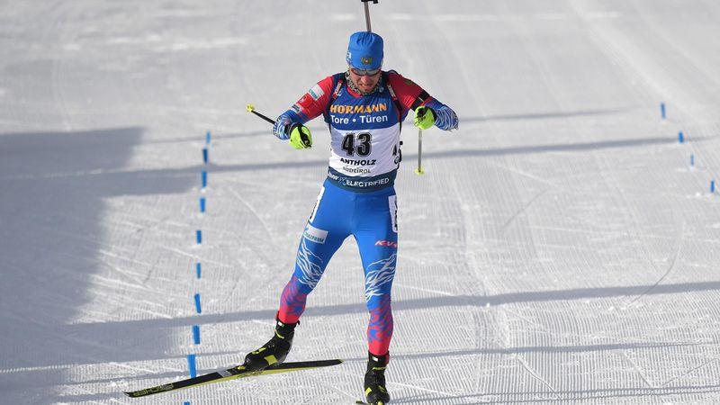 Biatlón, Mundiales: Loginov suma su primer oro en los 10 kilómetros esprint
