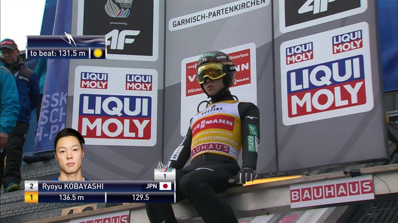 See the jump which landed Kobayashi new Four Hills title