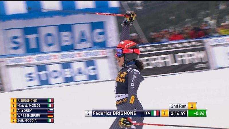 Alpine skiing Wcup Squax Valley : Federica Brignone leg 2