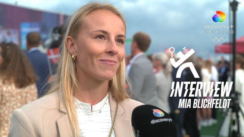 Motiveret Mia Blichfeldt om næste OL: Jeg vil rigtigt gerne have en medalje med hjem i 2024