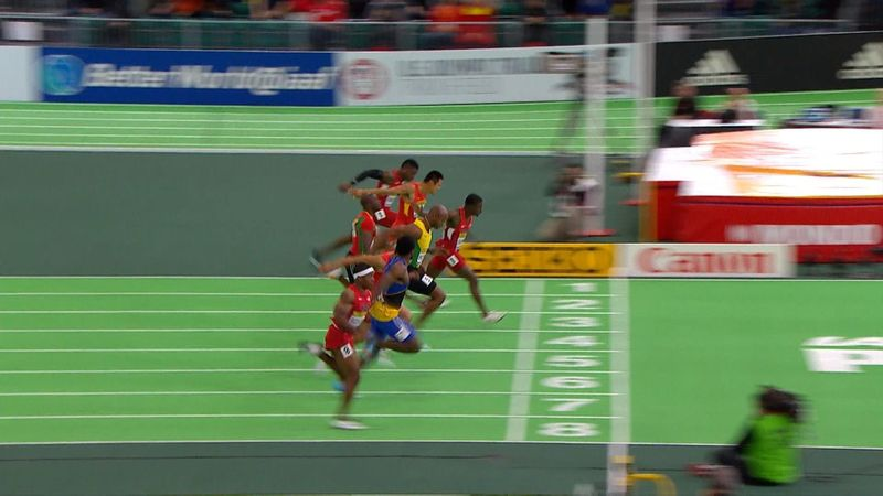 Bromell in stunning form as he wins 60m final