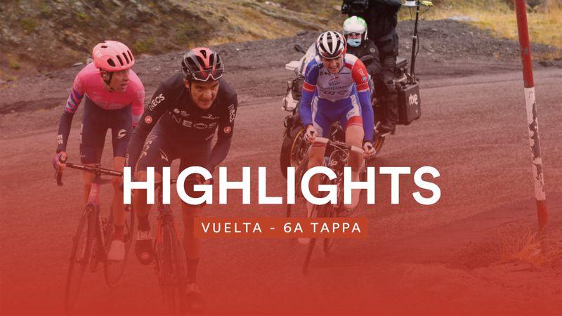Carapaz attacca Roglic, vince Izagirre: gli highlights