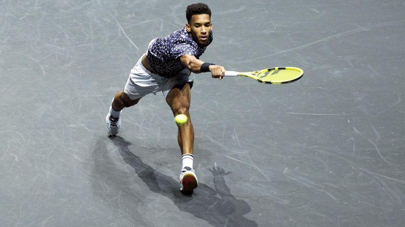 ATP Rotterdam: Auger-Aliassime s-a calificat în finală