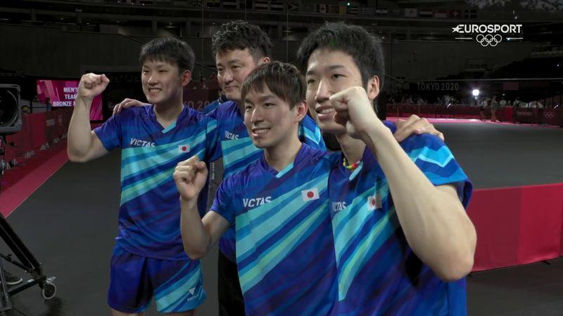 Jocurile Olimpice: Japonia a luat bronzul la tenis de masă masculin