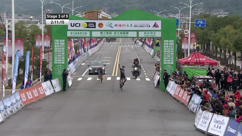 Slik wins sprint finish on Stage 3 of Tour of Fuzhou