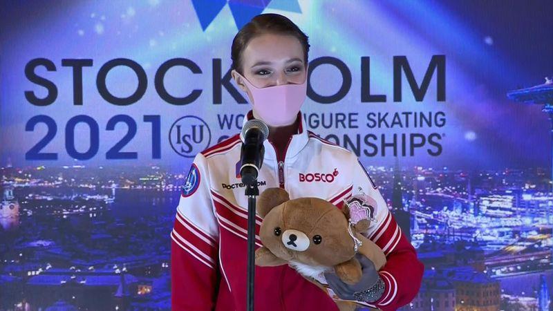 """Anna Shcherbakova: """"Non so cosa dire, ho solo dato il massimo"""""""