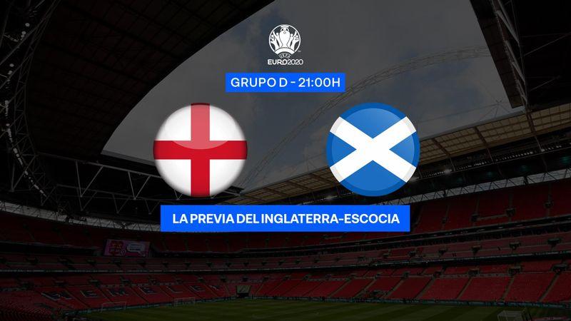 "Previa 60"" Inglaterra-Escocia: Derbi británico con distinto objetivo (21:00)"