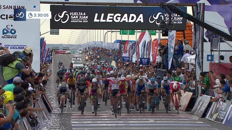 Vuelta a San Juan: victoria lui Fernando Gaviria