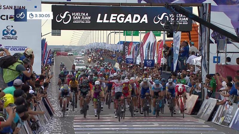 Ronde van San Juan| Fernando Gaviria wint massasprint tweede etappe