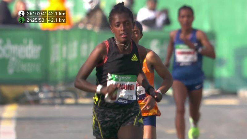 Memuye feiert größten Karrieresieg bei Paris-Marathon