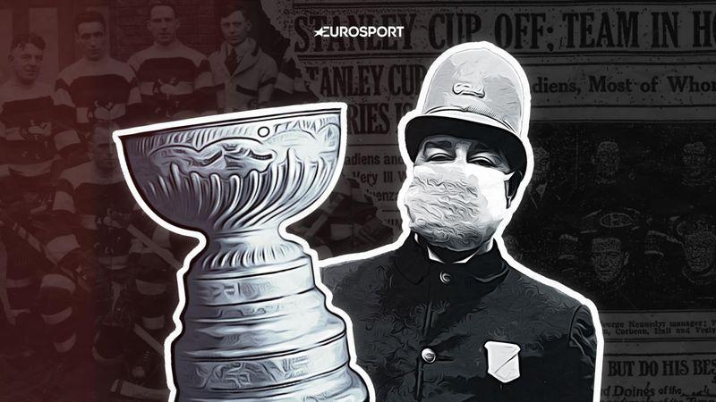 Эпидемия испанки била по Кубку Стэнли. Игроков финальной серии госпитализировали во время матча