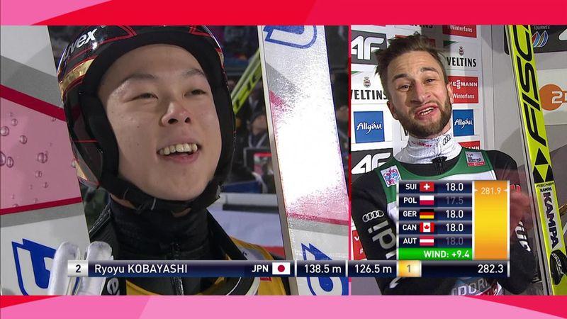Torneo de los 4 Trampolines: Kobayashi se lleva el primer triunfo en un final ajustadísimo
