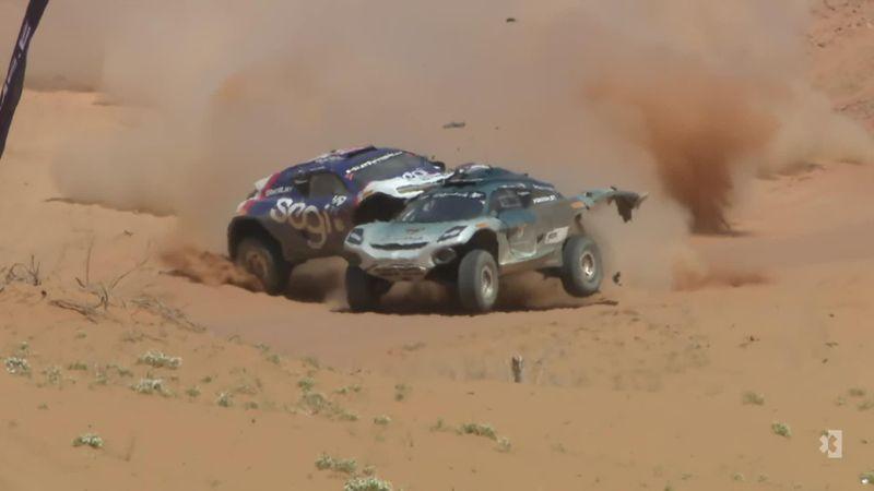¡Vaya fin de semana! Segundo accidente de Hürtgen en el Desert X Prix