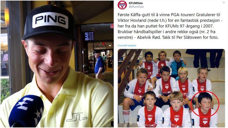 Sjekk «Twitter-løse Viktors» reaksjon på gamleklubbens gratulasjon