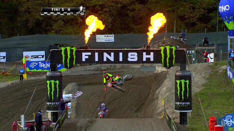 MXGP: Tim Gajser, altro trionfo. Tony Cairoli fuori pista