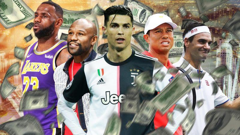 Ronaldo, Mayweather, Federer... voici les sportifs les mieux payés de la décennie