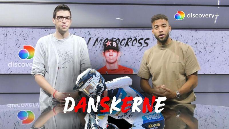 Kjer Olsen-succes på uvant underlag og sten i Bøgh Damms bremse: Dansker-recap i Motocross-studiet