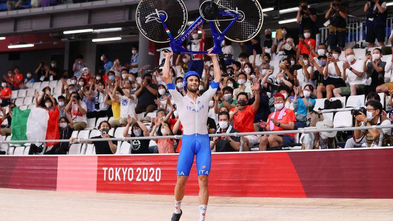 Tokyo 2020 | Italiaanse baanwielrenners winnen dankzij Ganna op fenomenale wijze goud