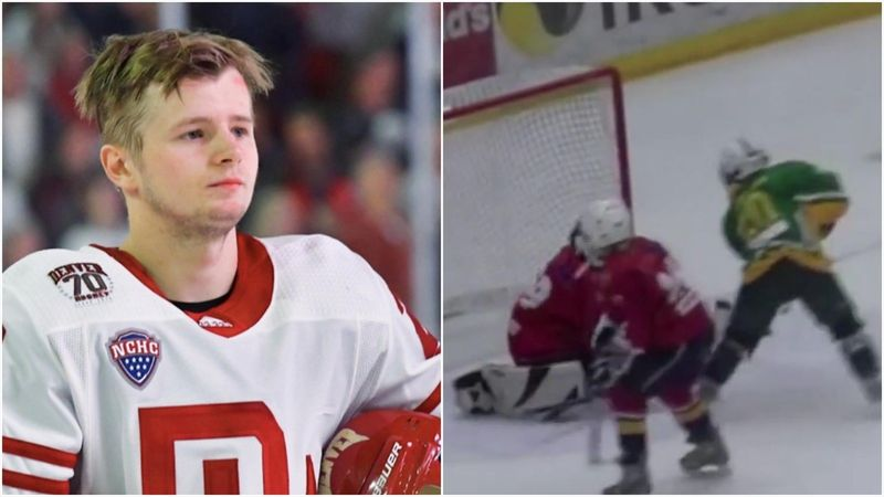 Norges nye NHL-proff – her herjer han som liten gutt