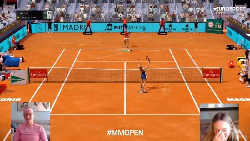 Highlights: Wozniacki taber tæt semifinale til Kiki Bertens