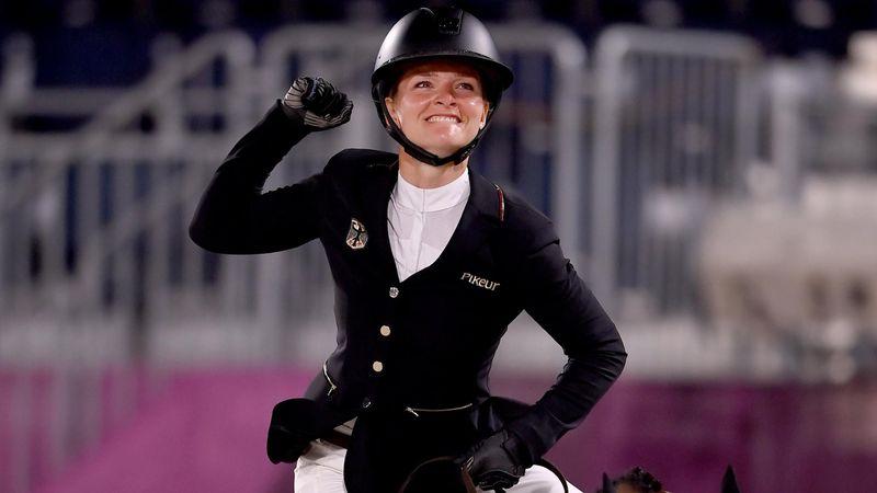 Der Gold-Ritt: Krajewski erste Olympiasiegerin in der Vielseitigkeit