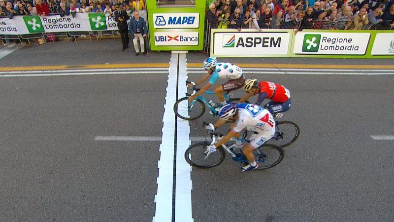 Tre Valli Varesine: Geniez, de su expulsión en La Vuelta a ganar al mejor Nibali del año