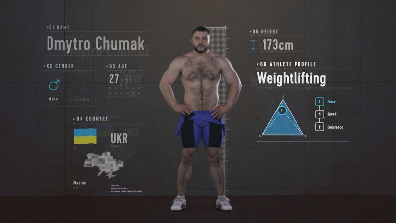 Anatomia del perfetto sollevatore di pesi: i segreti di Dmytro Chumak
