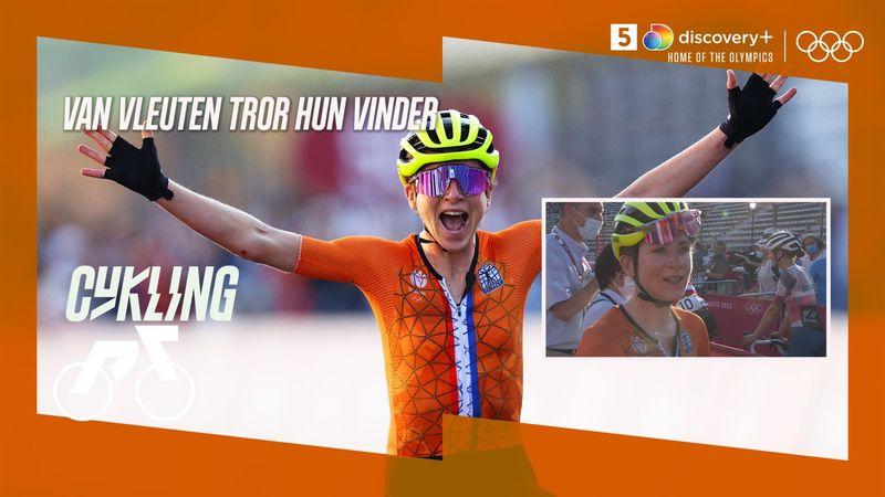 Absurde scener: Van Vleuten tror hun vinder guld i linjeløbet