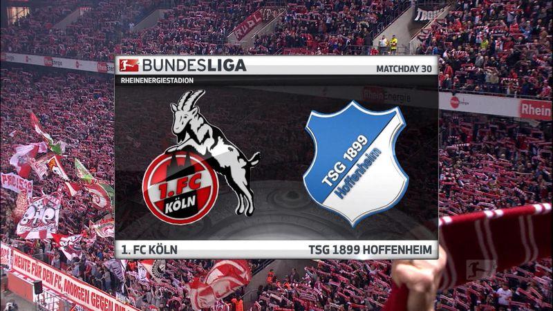 Høydepunkter: Köln - Hoffenheim
