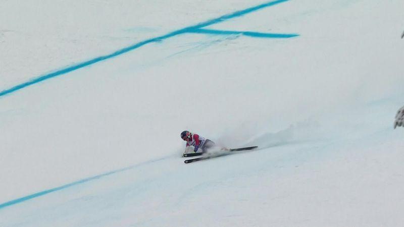 Copa del Mundo Garmisch-Partenkirchen: Espectacular caída de Laurene Ross