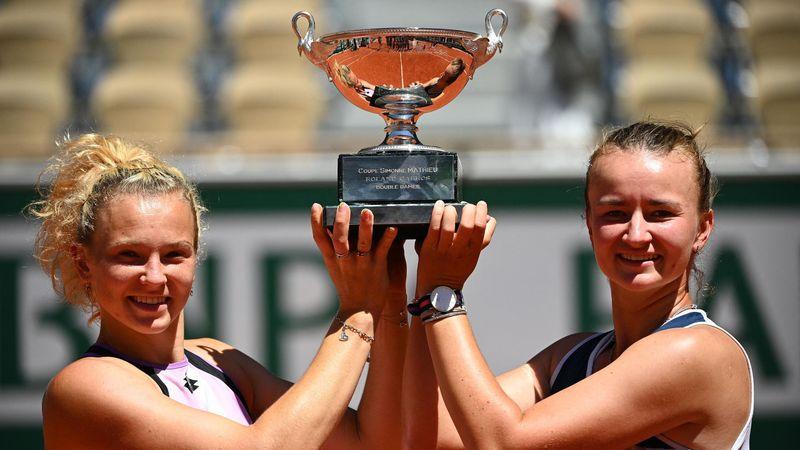 Krejcikova/Siniakova - Swiatek/Mattek-Sands - Roland-Garros