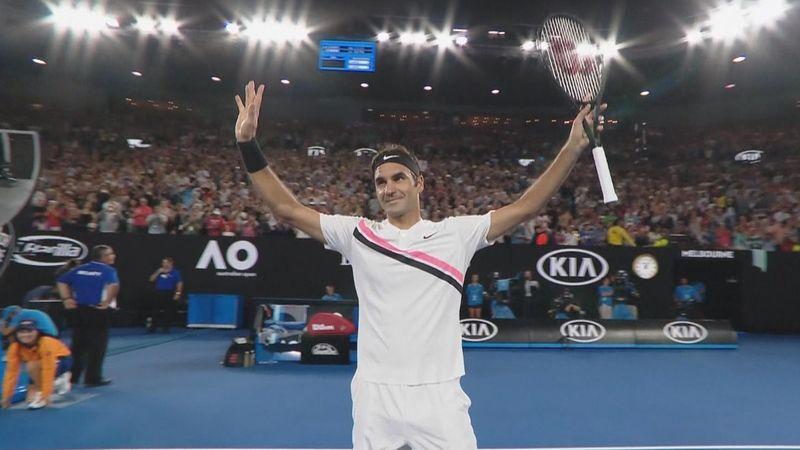 Avustralya Açık2018: Roger Federer - Richard Gasquet (Özet)