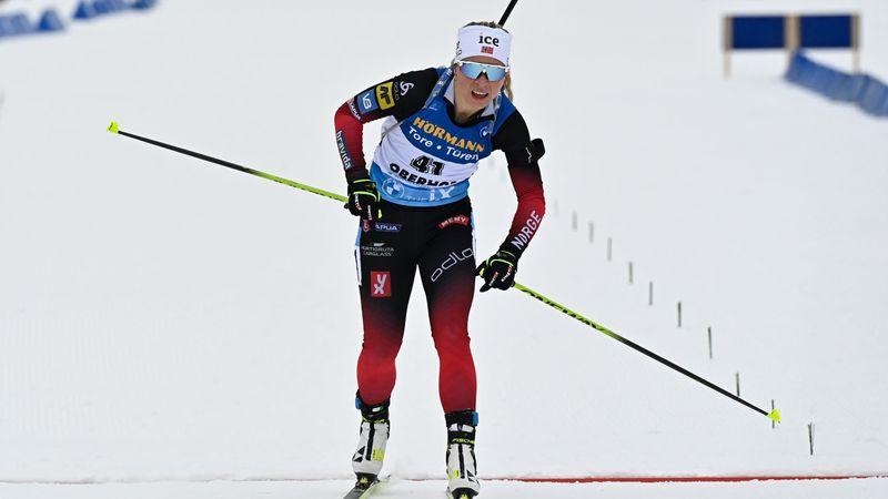 Tiril Eckhoff sigue imparable y conquista su tercera prueba en Oberhof