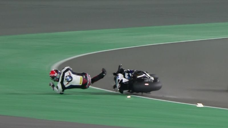 'Too wide!' - Sykes down after bump with Haslam