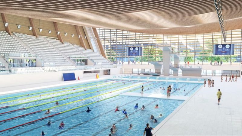 """""""Le centre aquatique olympique sera un héritage pour la Seine-Saint-Denis"""""""