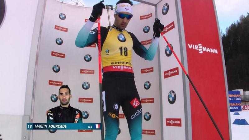 Victorie pentru Martin Fourcade, în sprintul de la Ruhpolding
