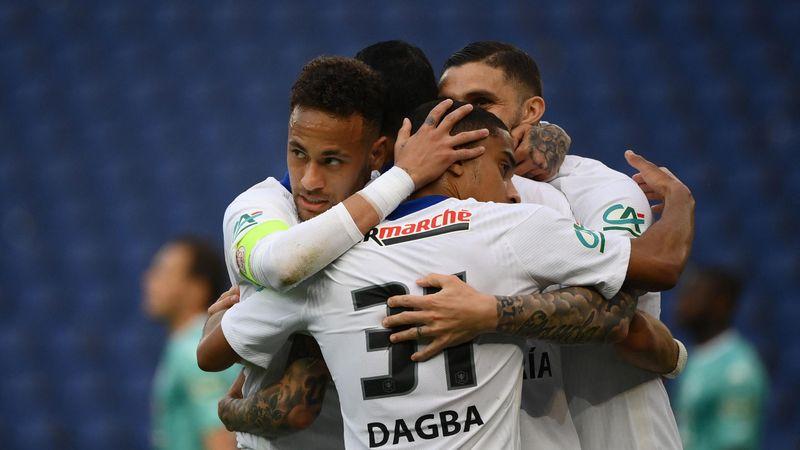Triplé d'Icardi, caviar de Di Maria, but de Neymar : la démonstration du PSG en images