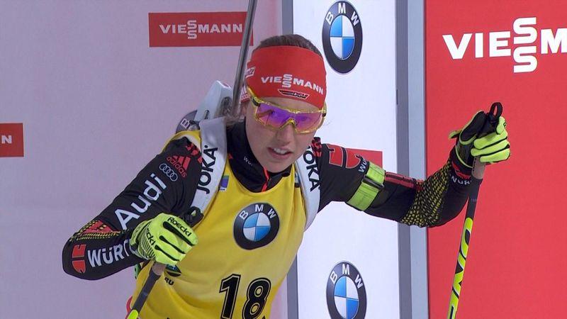 Laura Dahlmeier vince la sprint femminile di PyeongChang