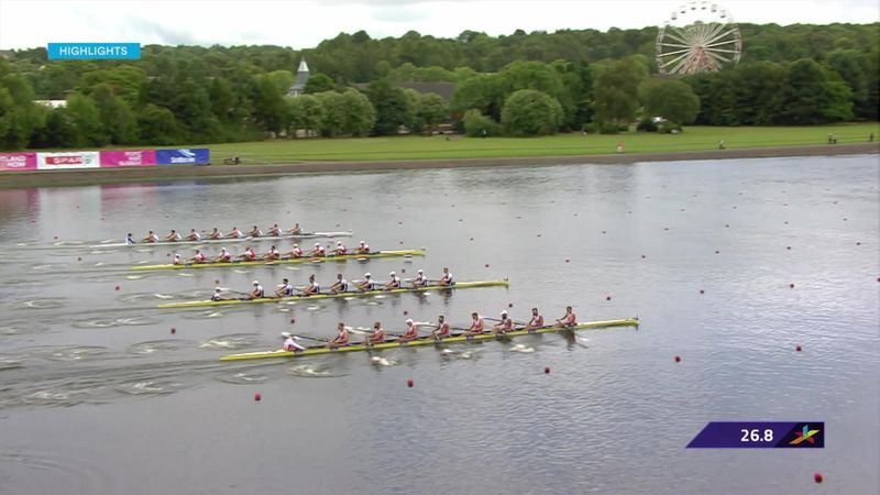 European Championships : rowing highlights Day 1: European Championships : rowing highlights Day 1