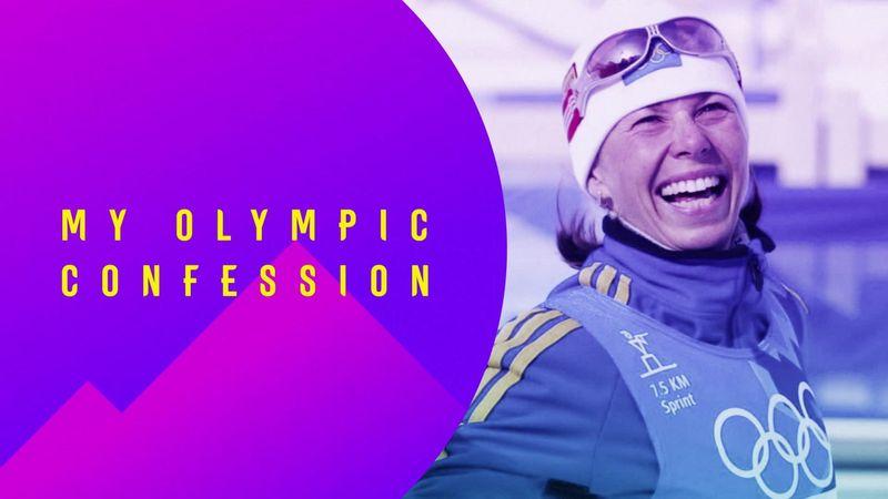 """Mi confesión olímpica, Magdalena Forsberg: """"Mi primera medalla en unos Juegos"""""""