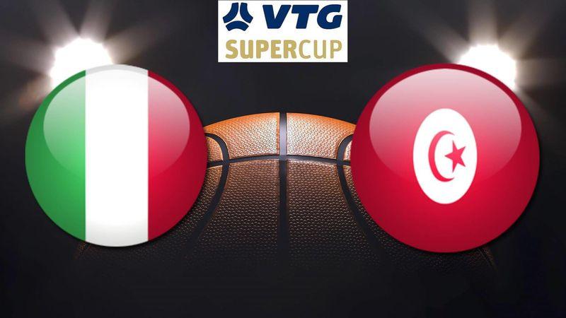 Highlights: Italia-Tunisia 82-56