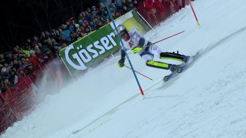 Schladming: Men's Slalom : Run 2 - Lizeroux