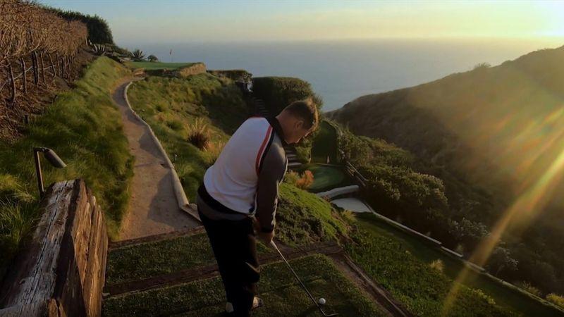 Ein Weinberg wird zum Golfplatz: Spektakulärer Par-3-Kurs in Malibu