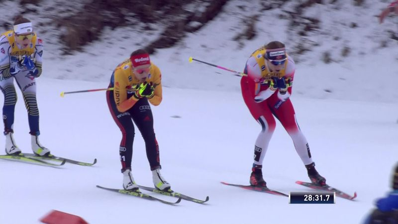 Tour de Ski | Astrid Jacobsen zorgt voor verrassing in Val di Fiemme