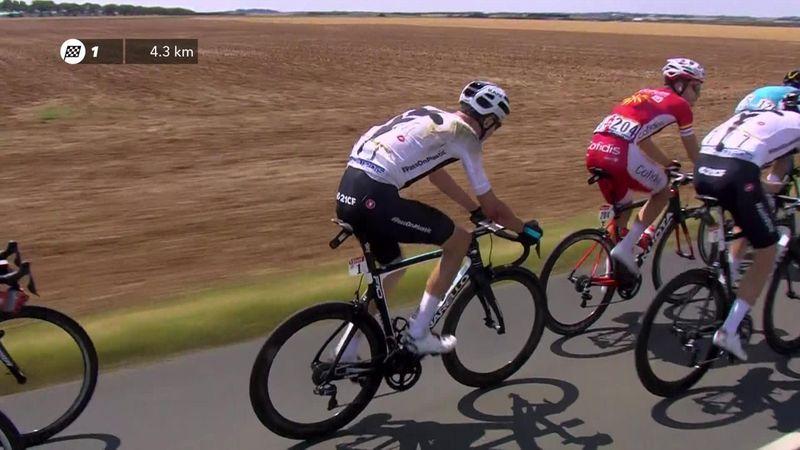 Fransa Bisiklet Turu: Chris Froome kazası