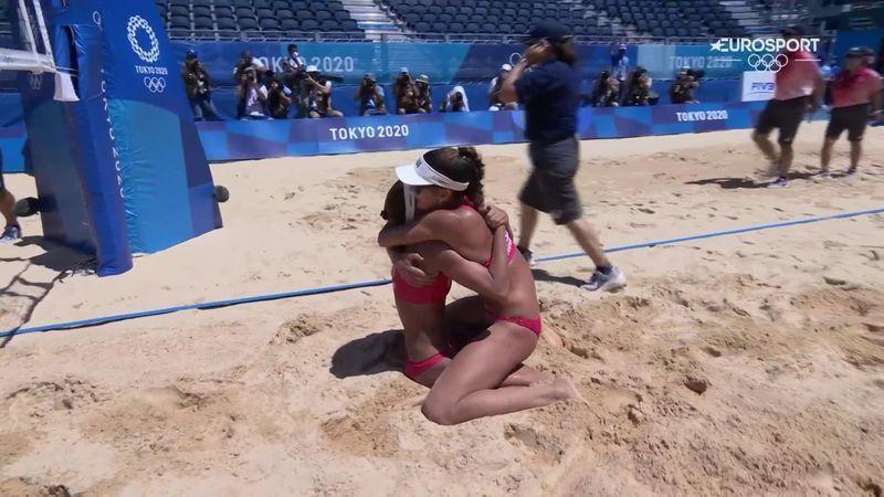 Jocurile Olimpice: Elveția învinge Letonia la volei de plajă feminin