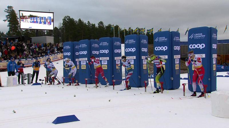 Esquí de fondo, Copa del Mundo: ¡Emoción hasta el final! Svahn triunfa en el esprint más ajustado